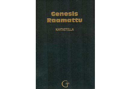 GENESIS RAAMATTU KARTASTOLLA MU.