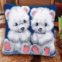 Ryepute, Teddybjørner 40*40cm