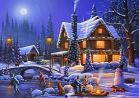 Puslespill Holiday Spirit for kids, 500 brikker