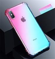iPhone Xs / X Deksel Shockproof, Powder Green