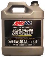 AMSOIL European Car Formula 5W-40 Full-SAPS, 5 L.