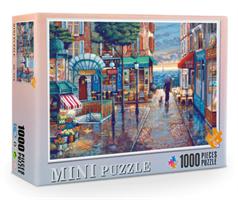 Mini Puzzle, Gatebilde 38*26cm (66-010) 1000 brikker