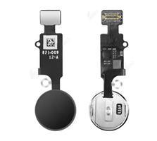iPhone 8/8+/7/7+ Hjem knapp m/Flex - Sort