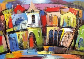 Puslespill The Fairytale Houses