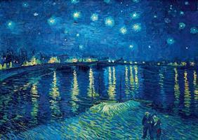 Puslespill Van Gogh, Starry Night over the Rhone, 1000 brikker