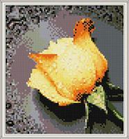 Diamond Painting, Rose gul 26*28cm FPK