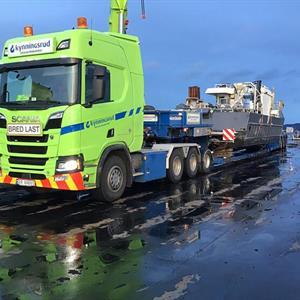 WSI Scania R HL 6x4 Nordic Crane Kynningsrud (NO)