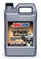 AMSOIL 20W-50 Høykvalitets fullsyntetisk MC-olje