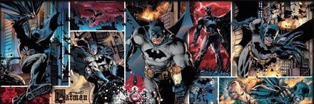 Puslespill Panorama Batman, 1000 brikker