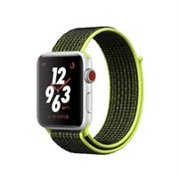 Apple Watch Sport Loop 42 mm - Sort-Gul