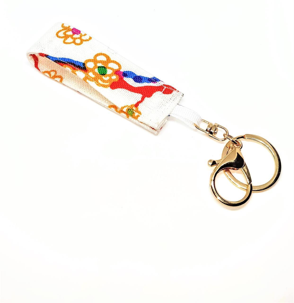 Nyckelring vit Teheran