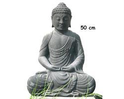Buddha - Grå 50cm (2 pack)