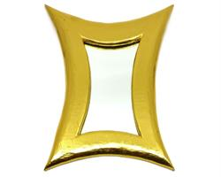 Spegel - Guld (4 pack)