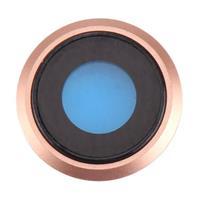 iPhone 8 Kameraglass m/Ramme - Gull
