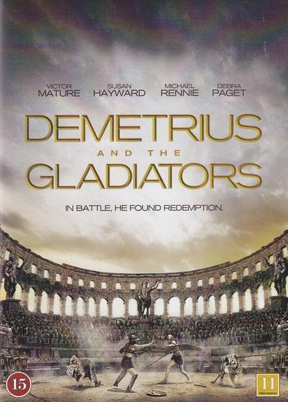 DEMETRIUS AND THE GLADIATORS DVD