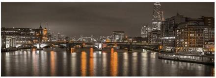Puslespill Panorama London at Night 235*83cm, 6000 brikker