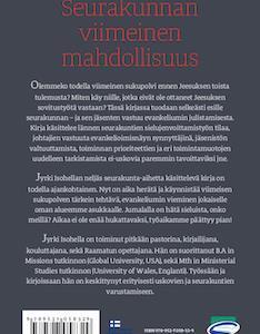 SEURAKUNNAN VIIMEINEN MAHDOLLISUUS - JYRKI ISOHELLA