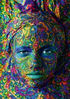 Puslespill Face Art, Portrait of woman, 1000 brikker