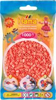 Hama perler Midi, Pastell Rød 207-44 1000stk