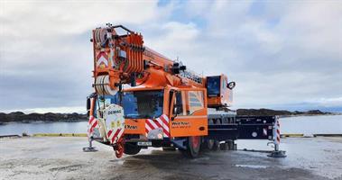 IMC AC 250-5 Mobile Crane Westkran (FB)