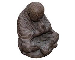 Shaolin monk - Prayer brun 40cm (2 pack)
