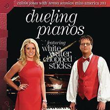 CALVIN JONES & TERESA SCANLAN - DUELING PIANOS  CD