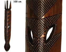 Mask - Zebra guld 100cm (4 pack)