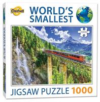 Mini Puzzle, Matterhorn Switzerland 42*29cm 1000 brikker