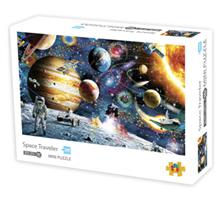 Mini Puzzle, Space Traveler42*29,7cm 1000 brikker