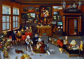 Puslespill Hieronymus Francken licirca, Collector's Cabinet, 1000 brikker