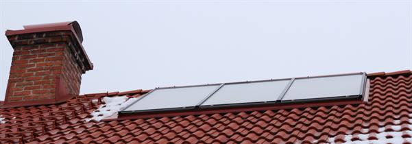 Tors solfångare - 6st LESOL 5AR ca 10m2. 50000kWh under 8 år!