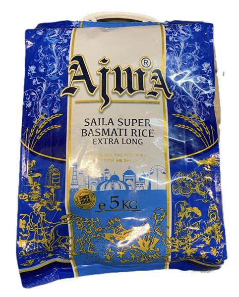 Ajwa Sela Basmati Rice 1121 Golden 4x5kg