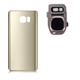Bakdeksel Samsung Galaxy  S7 Edge - Gull
