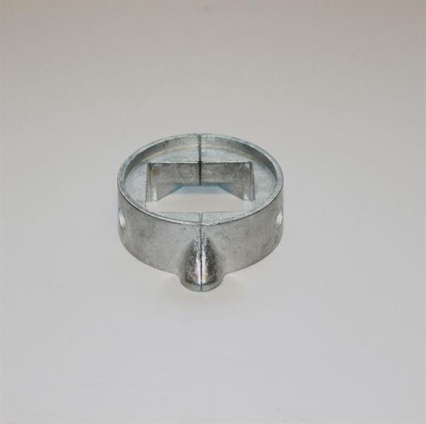 Anod för s-drev i zink för FOCS-serien, tvådelad