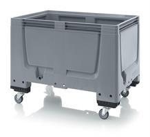 Pallecontainer BBG1208R 1200x800x930 tett m/hj grå