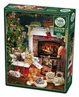 Puslespill Christmas Kittens, 1000 brikker