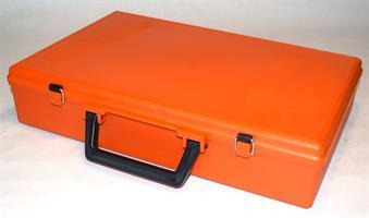 Koffert T50 med skillerom orange 400x270x84mm