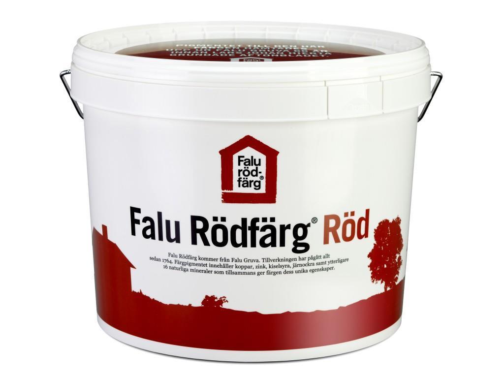 Falu Rödfärg Röd