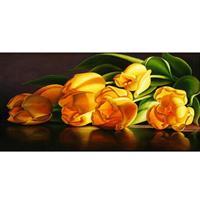 Diamond Painting, Tulipaner 67*27cm (25019) FPR
