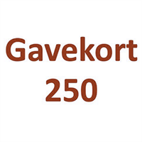 Gavekort 250