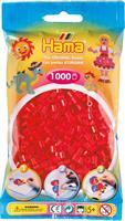 Hama perler Midi, Rød 207-05 1000stk
