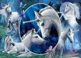 Puslespill Graceful Unicorns, 1000 brikker