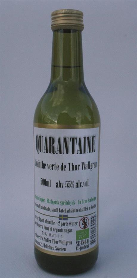 Quarantaine Absinthe Verte de Thor Wallgren