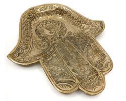 Brons - Guld Fatimas Hand 19cm (2 pack)