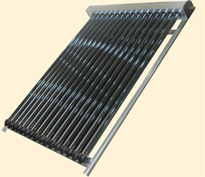 Heat pipe Solfångare 24 rör
