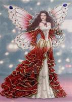 Diamond Painting, Prinsesse rosa 24*34cm (R8234) AP