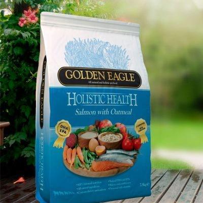 GE Holistic Health Laks og Havre 12kg.