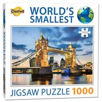 Mini Puzzle, Tower Bridges 42*29cm, 1000 brikker