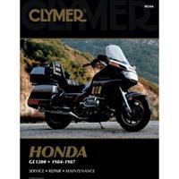 CLYMER Motorcycle Repair Manual - Honda GL1200