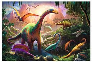 Puslespill Dinosaurer, 100 brikker